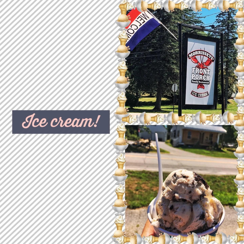 Ice cream, Alton, Lake Winnipesaukee tour