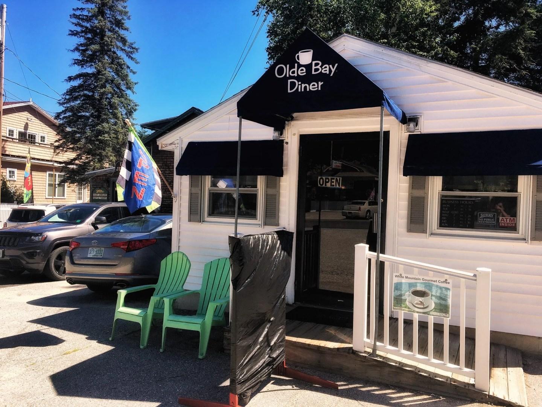 A Little Murder Alton Bay Tour, Lake Winnipesaukee, Olde Bay Diner