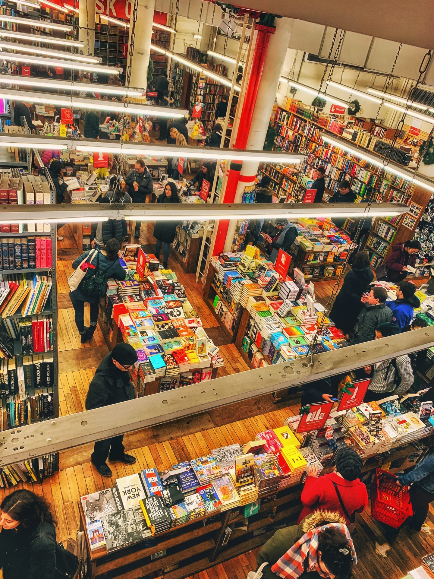 Strand Book Store, Dash & Lily's Book of Dares tour