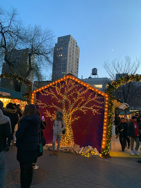 Holiday Markets in NYC, Union Square
