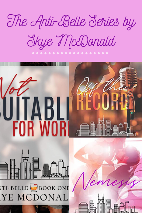 The Anti-Belle Series by author Skye McDonald