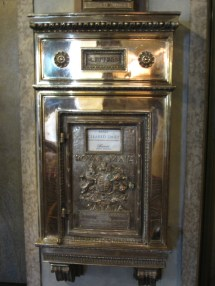 Fairmont Banff Springs Hotel 2016 Mail Slot Literary And