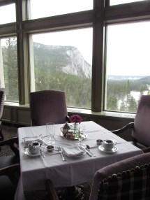 High Tea Fairmont Banff Springs