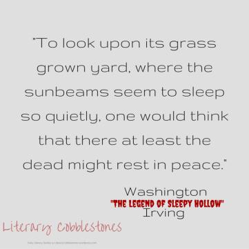 "October 16: Washington Irving's ""The Legend of Sleepy Hollow"" | Daily Literary Quotes @ Literary Cobblestones"