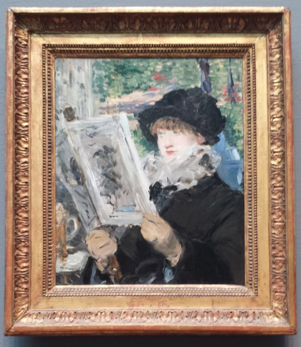 Woman Reading. Edouard Manet, 1879/80. Oil on canvas.