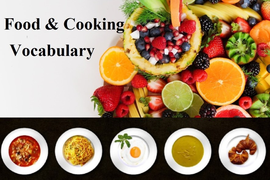 food and cooking vocabulary