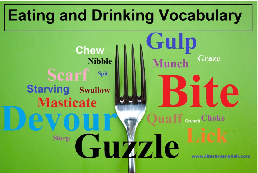 Eating and Drinking Vocabulary