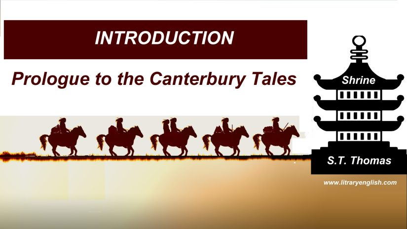 Introduction to the General Prologue to Canterbury Tales