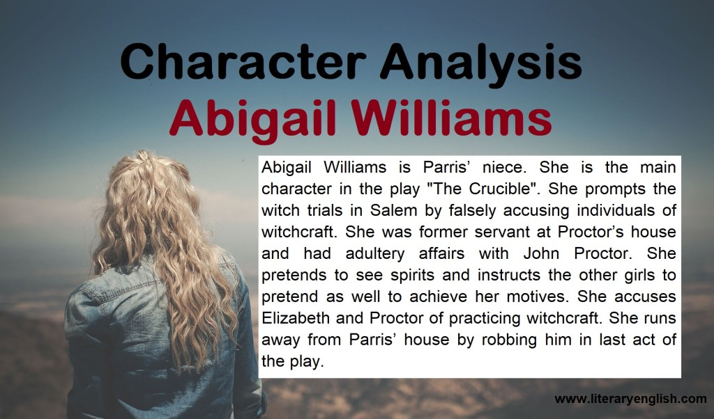 Character Analysis of Abigail Williams