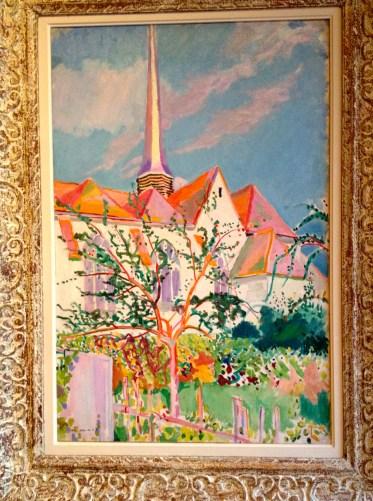 Maurice Marinot, Eglise des Noës, un après-midi d'avril