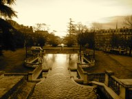 Jardin Darcy, soleil levant