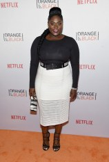 """Danielle Brooks (Tasha """"Taystee"""" Jefferson) would bring her spanx. She later told BuzzFeed that she would bring chocolate into prison."""