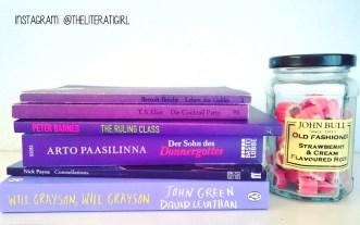 Shades of Purple, Books of Colour! #Shelfie #Bookstagram @theliteratigirl