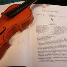 Yesterday's book review in the #atoz Challenge: A Study In Scarlet by Sir Arthur Conan Doyle. https://literati-girl.com/2016/04/01/a-study-in-scarlet-by-sir-arthur-conan-doyle-atoz/ #bookstagram ©theliteratigirl