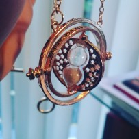 Just my kind of geeky jewellery :) Hermione's timeturner! #Hogwartsismyhome #harrypotter #proudgryffindor ©studyreadwrite