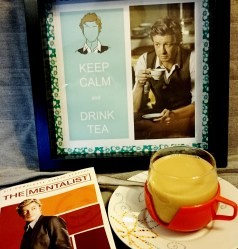 Sound advice from Mr Patrick Jane. Sunday night, putting my feet up with a nice cup of tea and an episode of The Mentalist. Yup, tea always hits the spot. #teaappreciation #thementalist #sundaynight #milkytea #alltheway #cantgowrong ©theliteratigirl