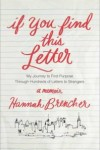 Michelle and Danielle Discuss If You Find this Letter by Hannah Brencher