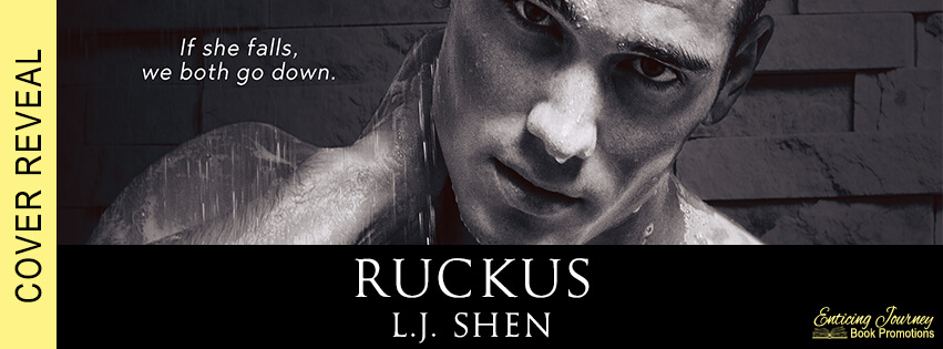 * Cover Reveal * Ruckus (Sinners of Saint book 2) by LJ Shen * Coming May 26th * Pre-Order Links *