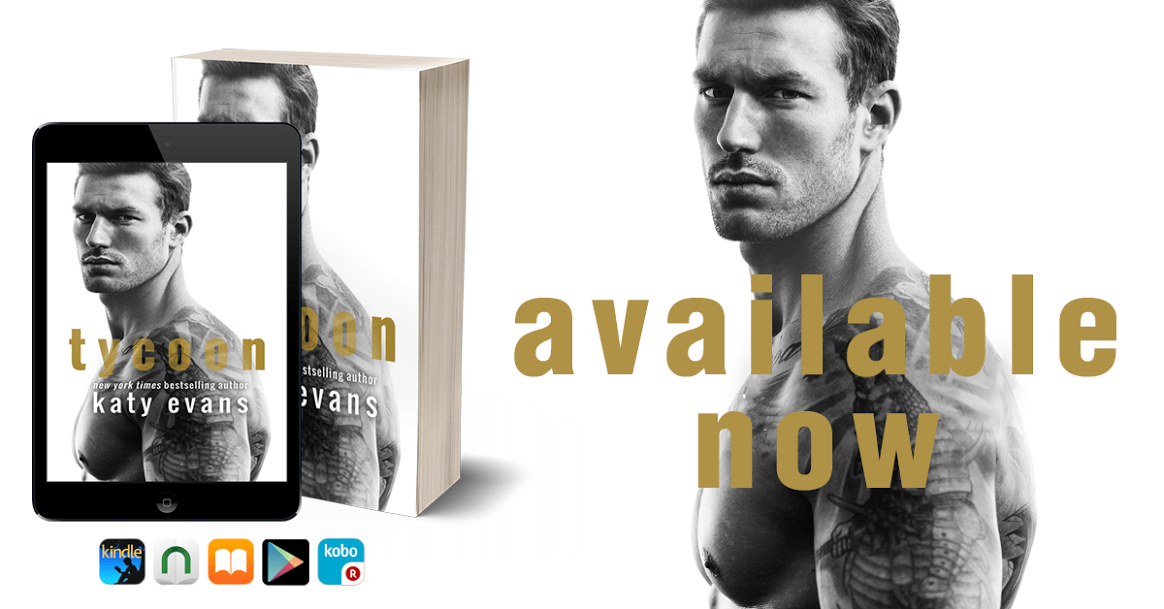 * Release Week * It's Live * Tycoon by Katy Evans * Blog Tour * Book Review *