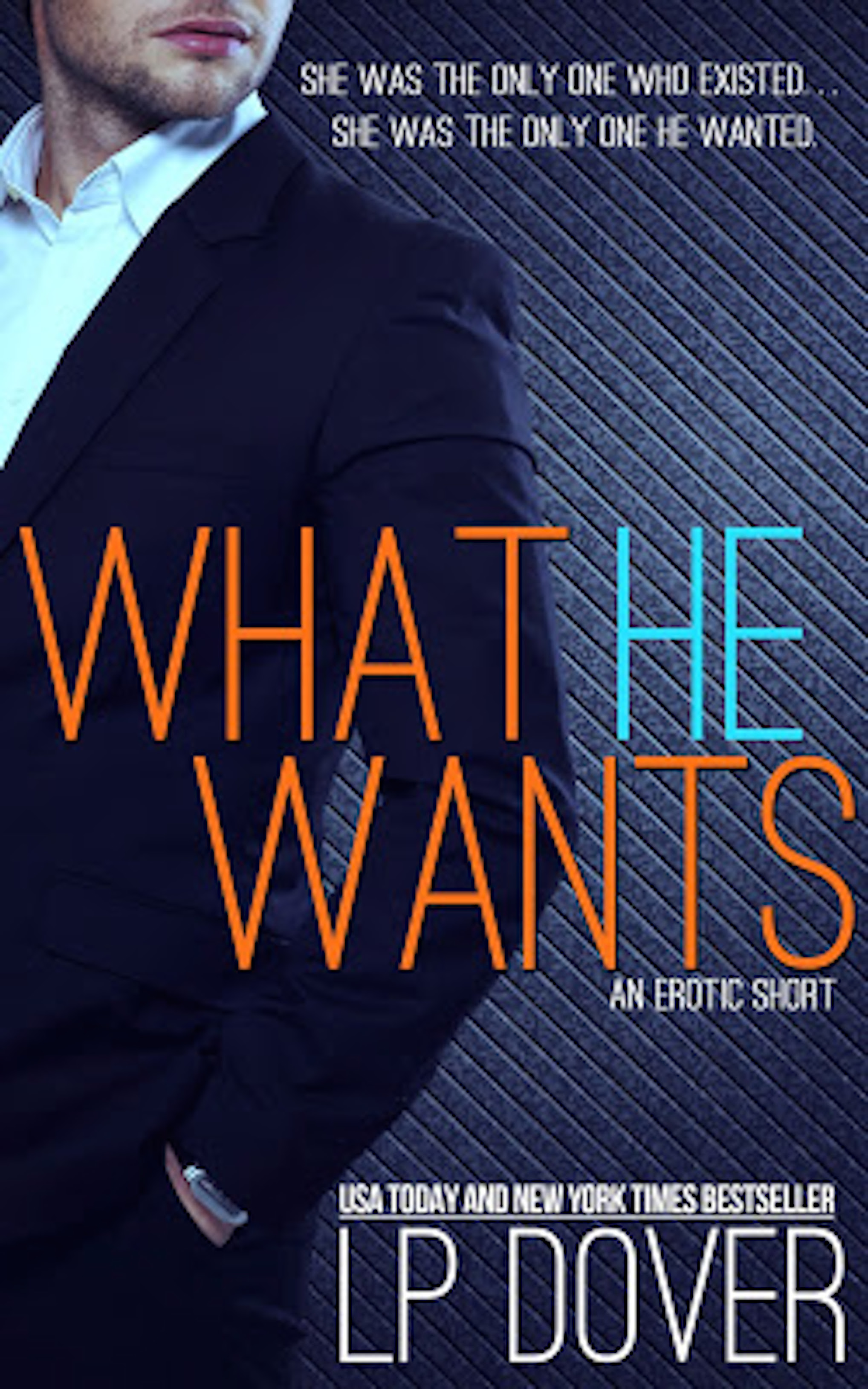 Release Day Launch * WHAT HE WANTS by LP Dover