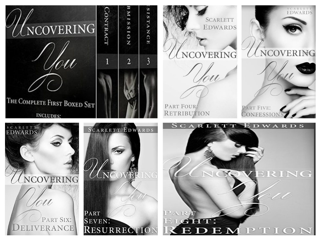 Uncovering You by Scarlett Edwards  Books 1 thru 8