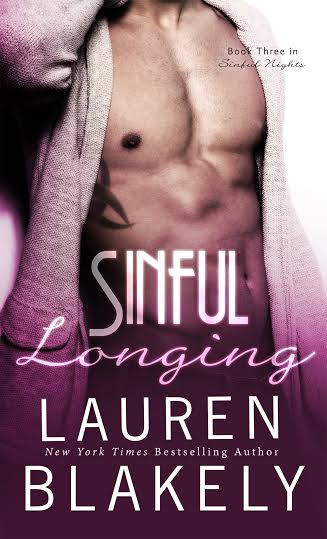 Sinful Longing by Lauren Blakely * Hot New Release * Kindle Fire Giveaway