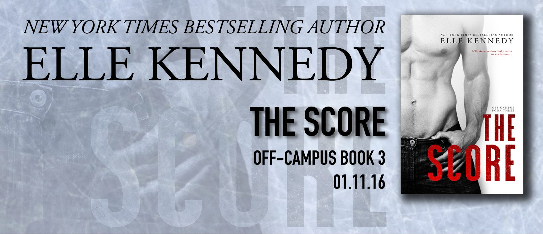 The Score by Elle Kennedy * New Release * 5 Star Review