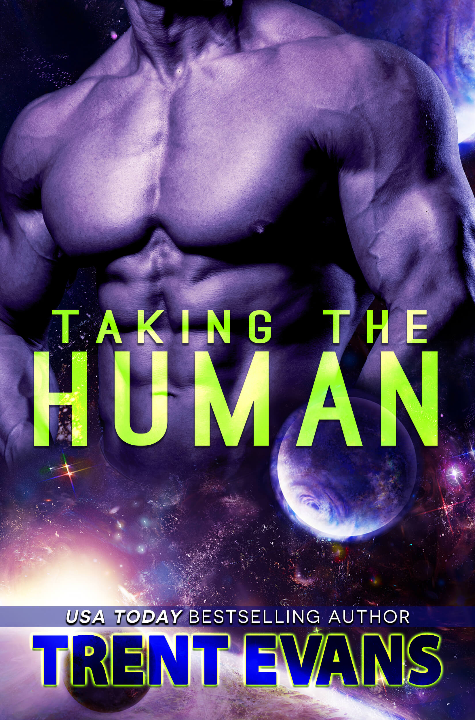 **Cover Reveal**  ~ Taking The Human by Trent Evans