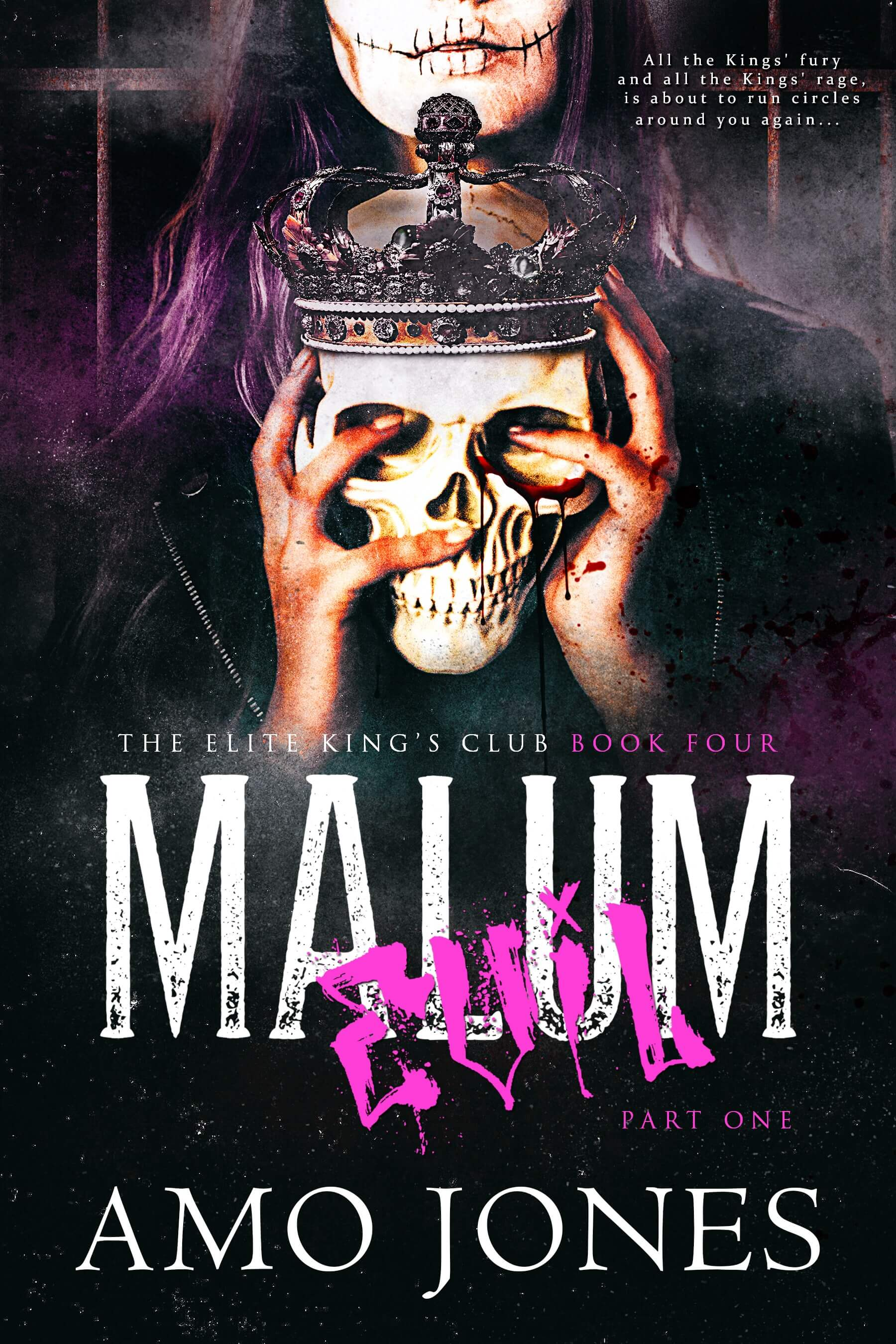 Release Day Blitz * Malum: Part 1 (The Elite Kings Club, book 4) by Amo Jones * 5 Star Book Review