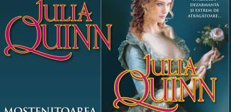 Mostenitoarea sedusa de Julia Quinn