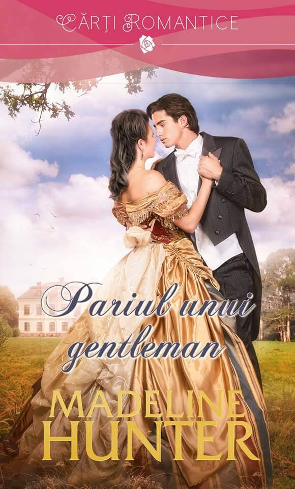 Pariul unui gentleman de Madeline Hunter-Cărţi Romantice-prezentare