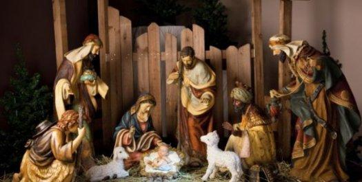 La imagen de la Navidad con el Belén