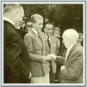 Príncipe Juan Carlos en Ibi