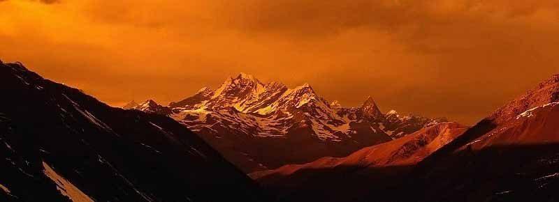 Himalaa Puesta de Sol