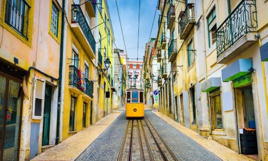 Portugal tranvía Lisboa