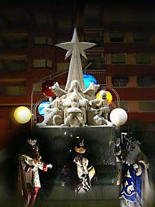 Monumento a los Reyes Magos en Ibi
