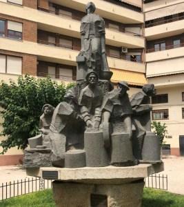 Monumento a los heladeros de Ibi