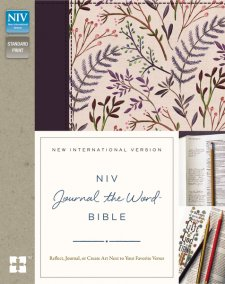 NIV, Journal the Word Bible published by Zondervan