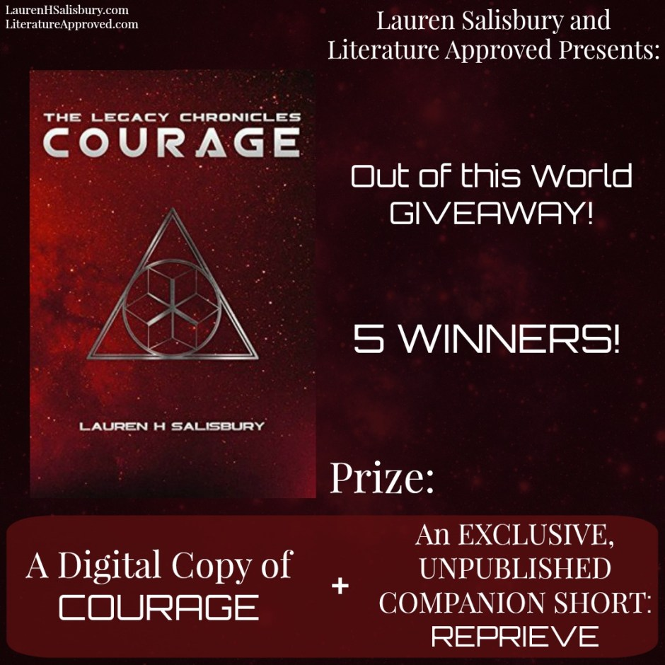 Courage giveaway-insta