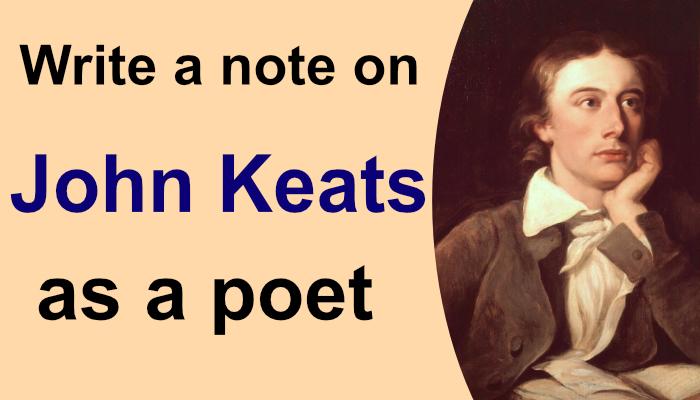John Keats Poetry