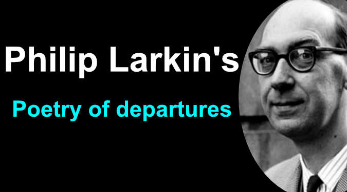 Poetry of departures