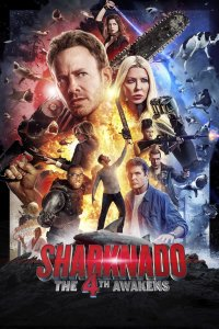 "Poster for the movie ""Sharknado 4: The 4th Awakens"""