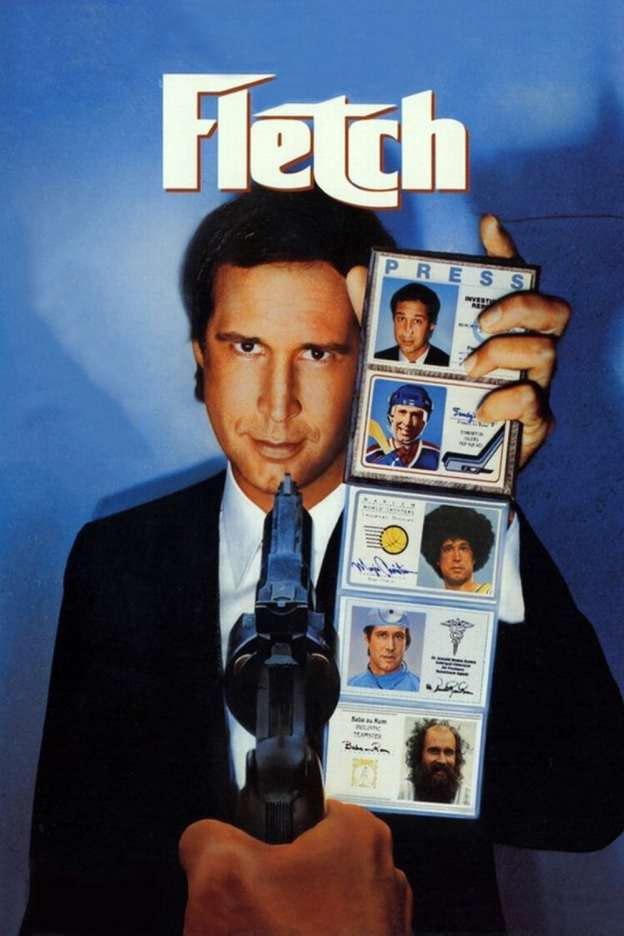 "Poster for the movie ""Fletch"""