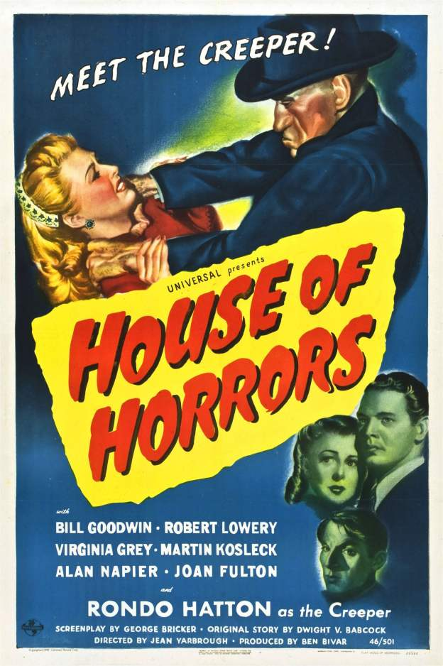 "Poster for the movie ""House of Horrors"""
