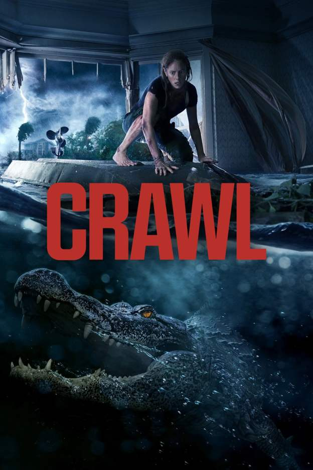 "Poster for the movie ""Crawl"""