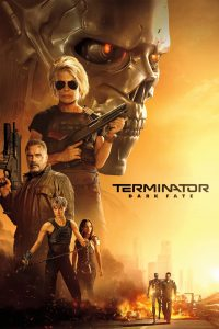 "Poster for the movie ""Terminator: Dark Fate"""
