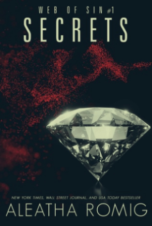 Book Review : Secrets (Web of Sin #1) by Aleatha Romig