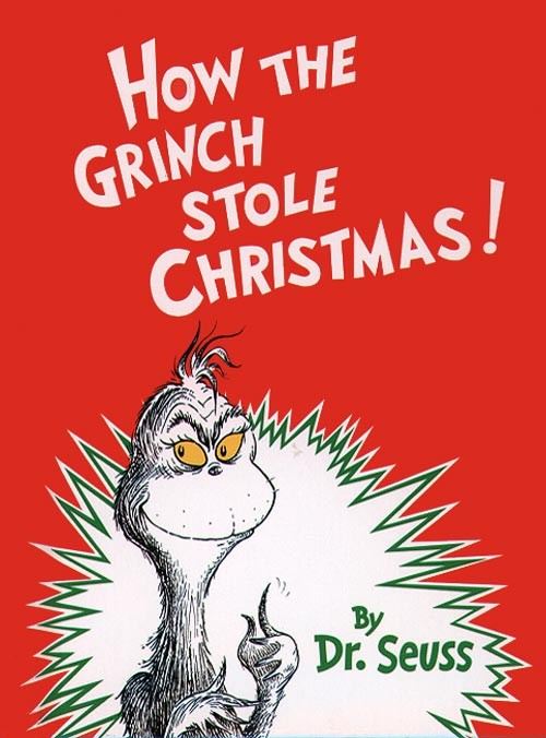 Image result for the grinch book