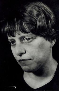 Portrait von Louise Straus-Ernst