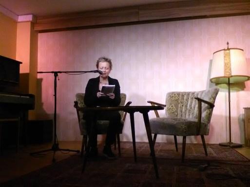 Kerstin Becker im Literaturklub Köln. Foto: (c) A. Kasnitz